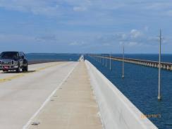 Die 7 Meilen Brücke vor Key West