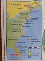 East Coast Greenway an der US Küste von Maine nach Key West