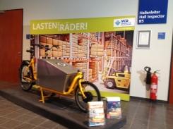 Eurobike 2014: LASTEN auf die RÄDER - Pedalpower Transportrad