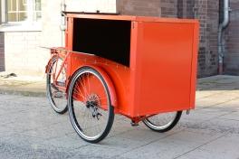 Unsere Lastenräder können Sie mit einem individuellen Aufbau bestellen