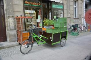Rikscha Gemüsetransporter