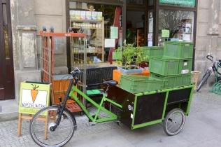 Rikscha als Lastenrad Transporter Zuladung bis zu 300 KG