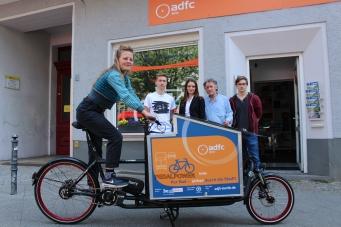 Der ADFC Berlin setzt auch auf den Pedalpower eHarry mit Brose Mittelmotor