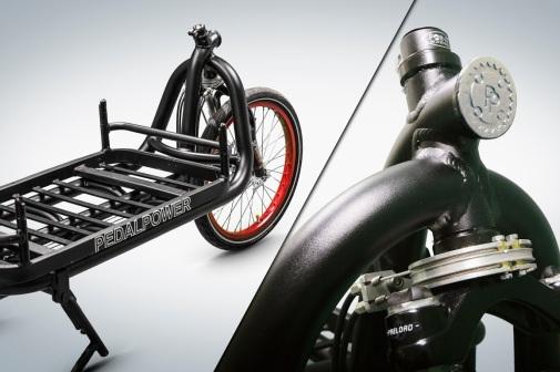 eHarry Cargobike mit Seillenkung