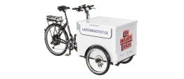 Unser Lastenrad beim Projekt ICH ENTLASTE STÄDTE mit NeoDrives Heckmotor