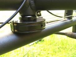 Die Doppelzug-Seillenkung von Pedalpower ermöglicht einen minimalen Wendekreis beim Fahren und Rangieren.