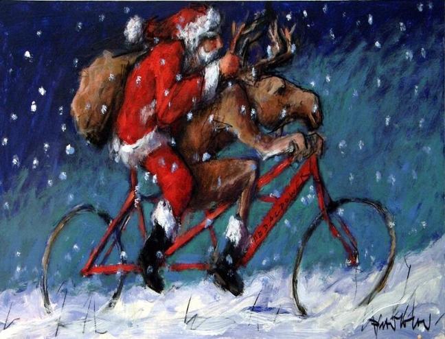 Pedalpower Weihnachten