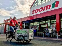 toom setzt aufs Lastenrad - eine gute Entscheidung