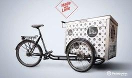 Speziell gebaut für KAFFEE LÜSKE - Berliner Lastenrad