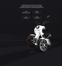 iTank 45 E-Roller mit Neigetechnik