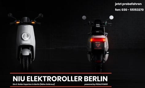 E-NIU.DE - powered by Pedalpower