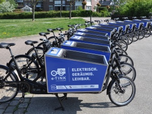 Nextbike Cargobike Sharing eHarry Pedalpower Spezialanfertigung