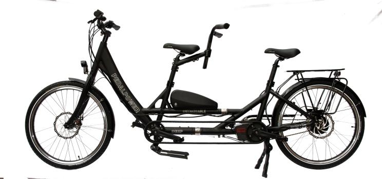 eDeep Detachable 2020: jetzt mit Rahmenakku - Standardfarbe schwarz