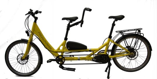 eDeep Detachable 2020: jetzt mit Rahmenakku - Sonderfarbe gelb mit Brose Drive-S Mittelmotor