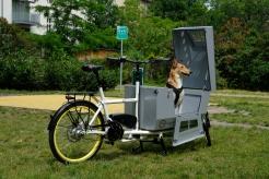 Wir haben uns Gedanken gemacht, wie Sie Ihren Hund sicher und bequem von A nach B bringen können. Entstanden ist die abgebildete Hundetransportbox